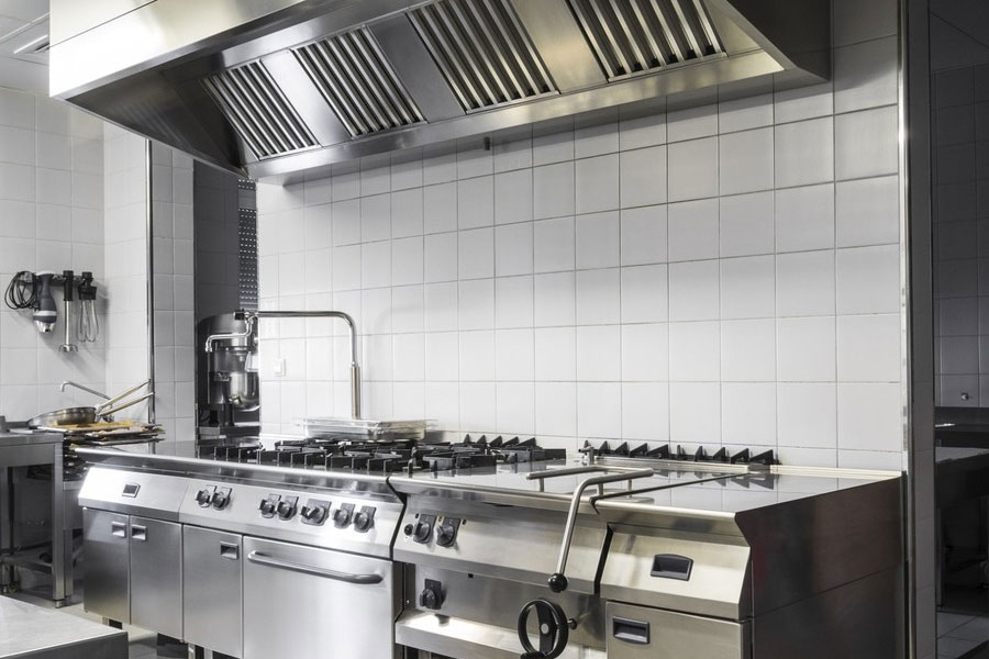 imipsa cocina en acero inoxidable